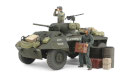U.S. M8 Light Armored Car Greyhound Combat Patrol Set