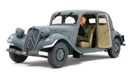 >Citroen Traction 11CV Staff Car - Tamiya
